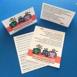 New Conversation Café Wallet Cards